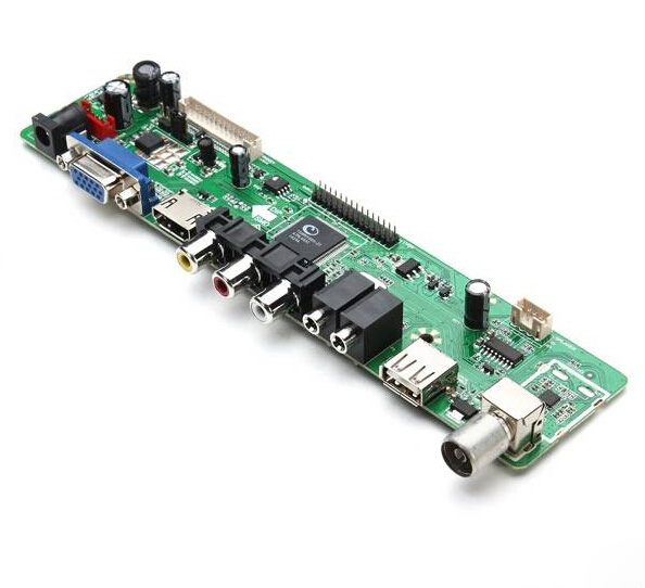 V56 Universal LCD TV Controller Driver Board PC/VGA/HDMI/USB Interface only driver board