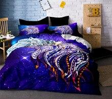 Eagle Bedding Set 3D Printed Duvet Cover for Adults Kids Dreamcatcher Bed American Flag Bedclothes 3pcs