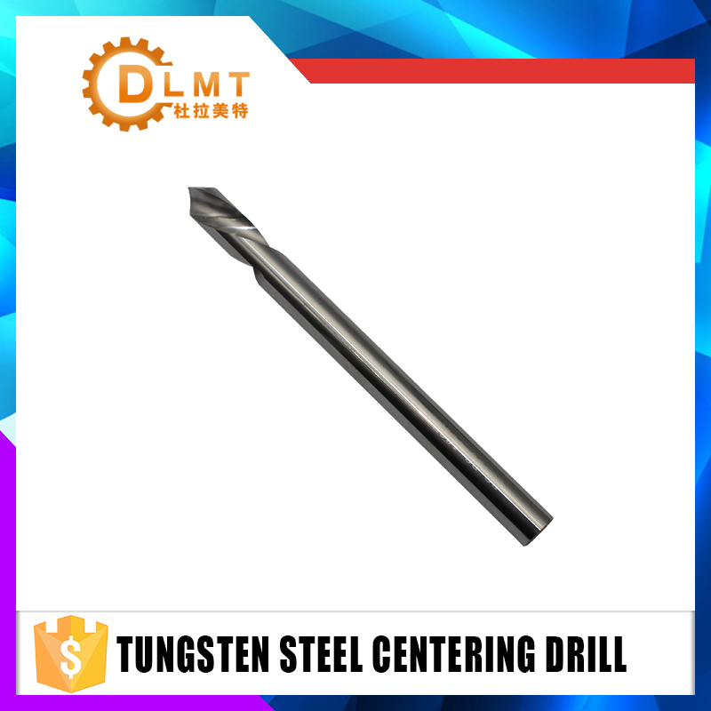 1pcs Twist Drill Bit Uncoated 4mm 6mm 8mm 10mm12mm Extral Long Spotting Drills Carbide Positioning Center Bit Metalworking 1pcs 1 6mm edge diameter center drill