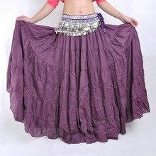 Jian Peng Bohemian skirt tribal belly dance Gypsy dress Belly Dance Costume plus size women kids dresses for girls