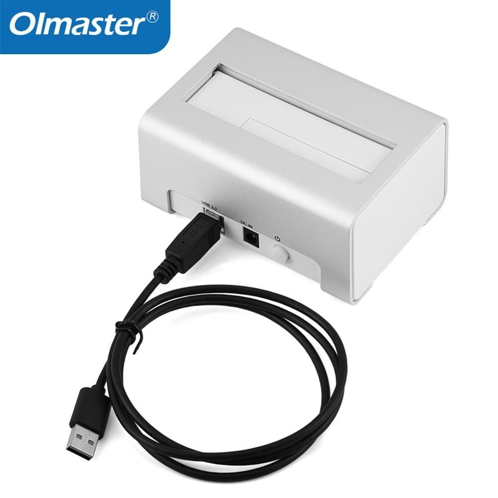 Station d'accueil OImaster USAP HDD 5 Gbps Super vitesse USB 3.0 vers SATA Station d'accueil pour disque dur 2.5 ''/3.5