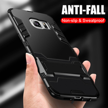 ZNP Luxury Shockproof Phone Case For Samsung Galaxy S9 S8 Plus S7 Armor Protective Cover Case For Samsung S7 Edge Note 8 9 Shell