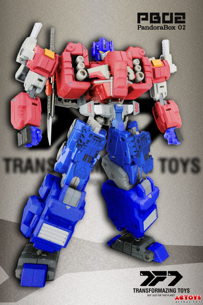 ФОТО TF Toys PB-02 Pandora's Box (OP Armor). In stock!