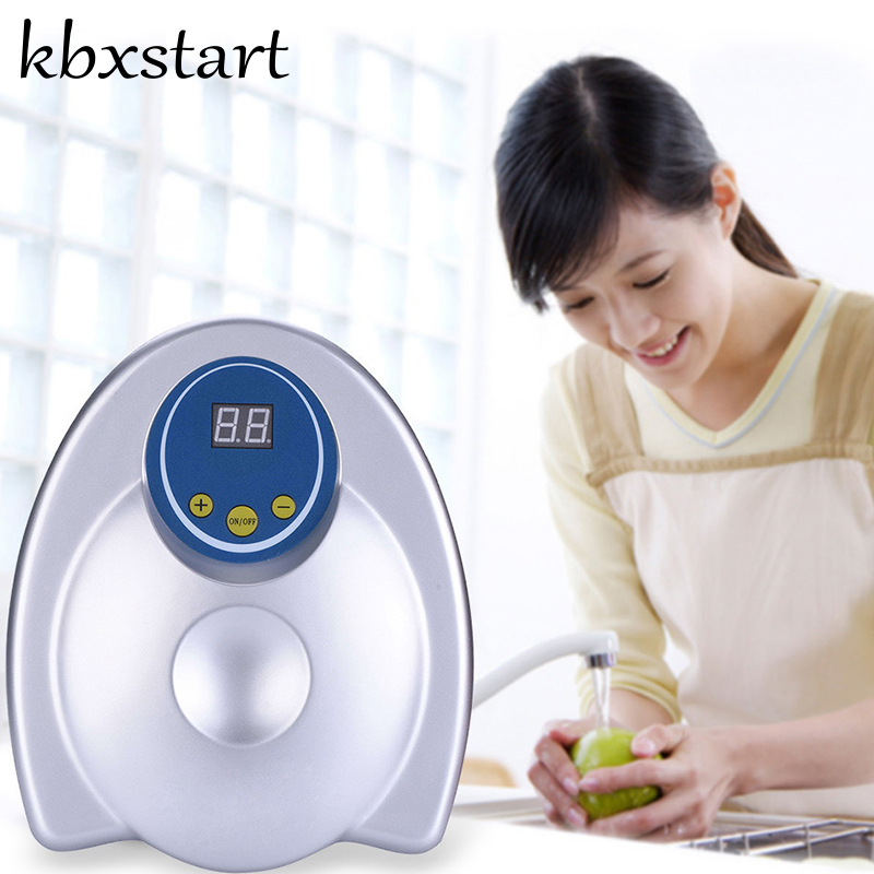 Kbxstart Ozone Generator Air Purifier Household Portable Ozone Disinfector for Fruit Vegetable Air Water Sterilization EU US цена и фото