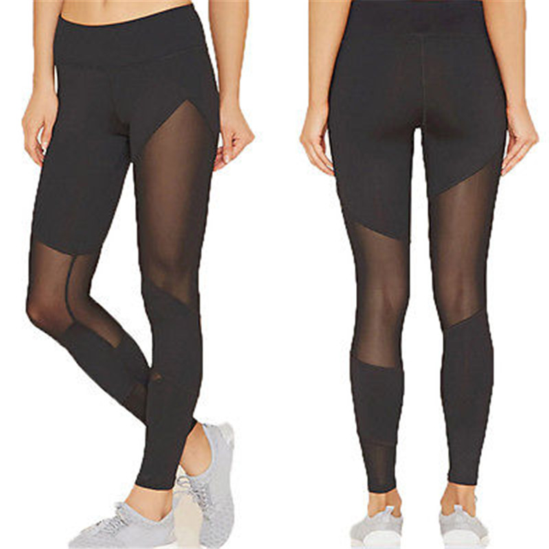 Popular Fashion Skinny Solid Perspective Womens High Waist Causal Leggings   Pants   Compression Trousers   Capris
