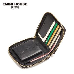 Image 2 - EMINI HOUSE Embroidery Wallet Women 2018 Purse Female Women Wallets Luxury Brand Wallets Designer Purse Wallet For Credit Cards