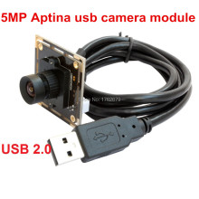 2 pieces 5MP HD 1/2.5 Aptina MI5100 CMOS Sensor high quality UVC usb camera board for kiosk manufacturer