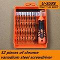 Multiuso 32 em 1 precisão conjunto chave de fenda ferramenta de abertura de reparação kit fix para iphone/laptop/smartphone/relógio com caixa de caso