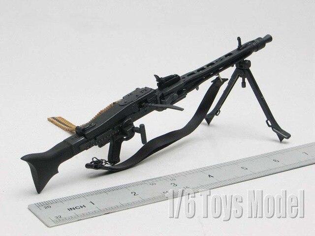1 6 Scale Toy Gun Weapons Dragon Wwii German Mg42 Machine Gun Model