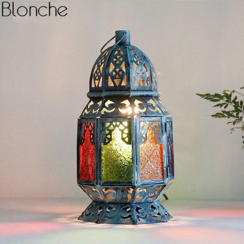 Tableau méditerranée Lampe Moderne Fer Étude Lampe de Bureau Bureau Architecte Lumières Vintage Chambre Maison De Lampe De Chevet Lumière Décoration