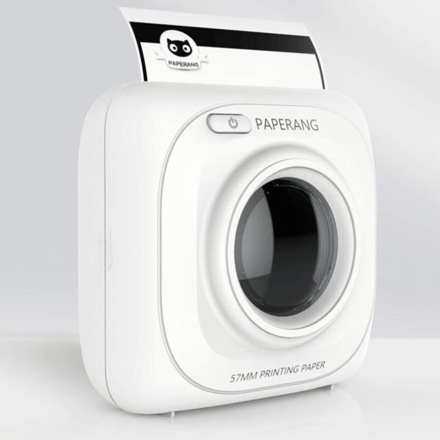 PAPERANG P1 impresora fotográfica portátil Bluetooth impresora fotográfica térmica teléfono Impresora inalámbrica trabajo en android ios ordenador portátil