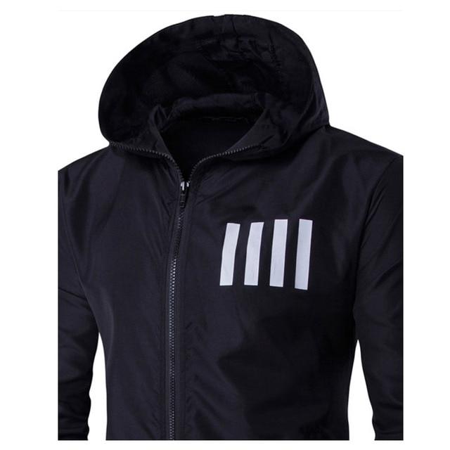 Men's Sweatshirt Tops Outwear Jackets Hooded Coat  3