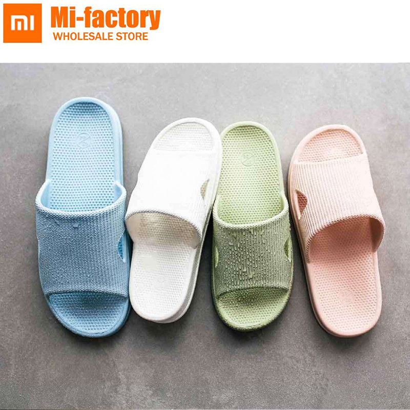 News Xiaomi One cloud High Qualit Slippers Summer Women Slippers Soft Flip Flops Ladies Man Sandals Casual Shoes Slip