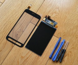 Tested Touch Digitizer Sensor + LCD Display Screen For Samsung Galaxy Xcover 4 SM-G390F G390 + Sticker + Kits