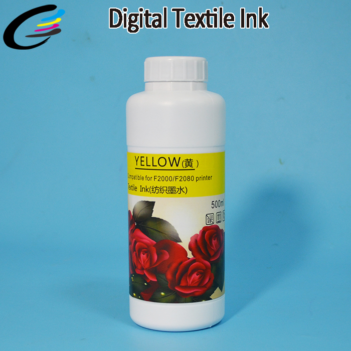 water based textile pigment ink for Epson 7800 9800 7880C 4880 9880 hot sale 1000ml roland mimaki mutoh textile pigment ink in bottle color lc for sale