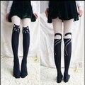 Bonito colégio mulheres meias outono inverno meias de Nylon meias calça de veludo dos desenhos animados Harajuku estilo de calças