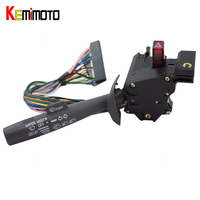 KEMiMOTO Turn Signal Switch Lever For Chevy Truck Escalade Blazer S10 Astro No Cruise