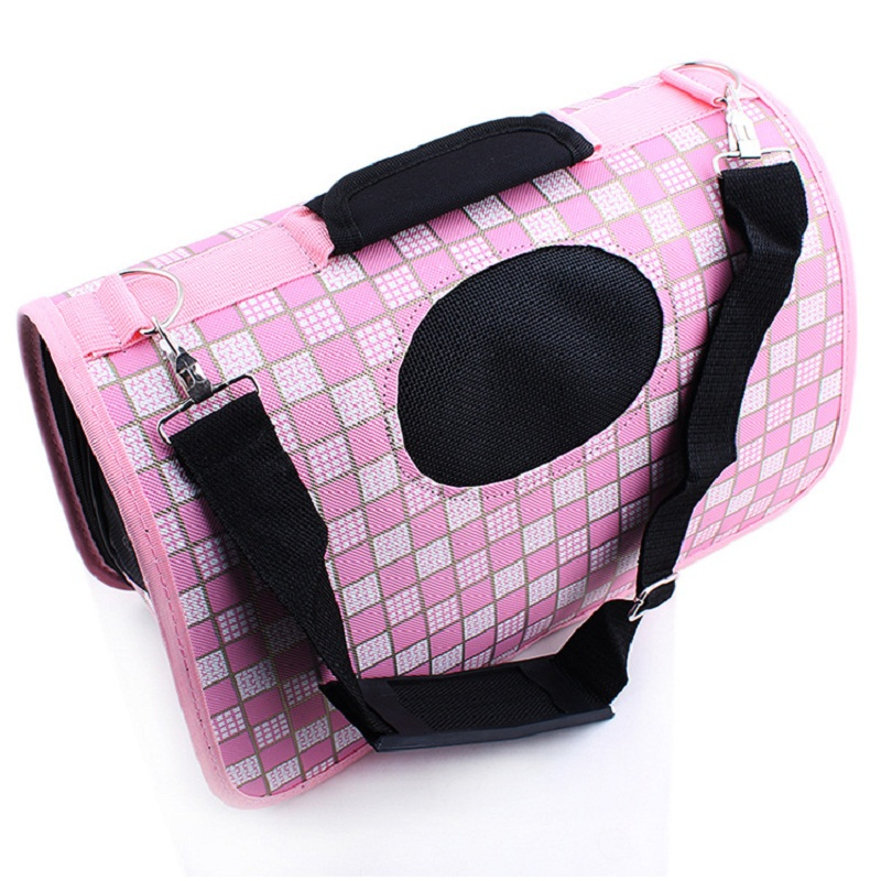 Folding Pet Carrier Sleepping Bag Carry Hand Tote Dog Bag Travel Portable Puppy Cat Bag Tote Carry Carrier Dog House