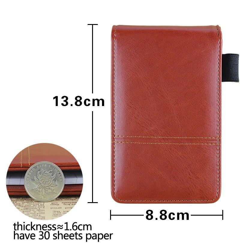 2015 nou design creativ papetărie PU din piele notepad Notebook - Blocnotesuri și registre - Fotografie 4