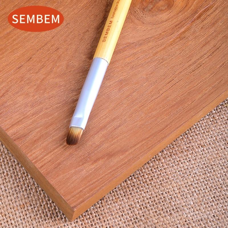 SEMBEM Soft Eye Shadow Brush Professional Eyeshadow Makeup Eye Color Cosmetic Make Up Brushes Synthetic Hair Wood Handle Brush