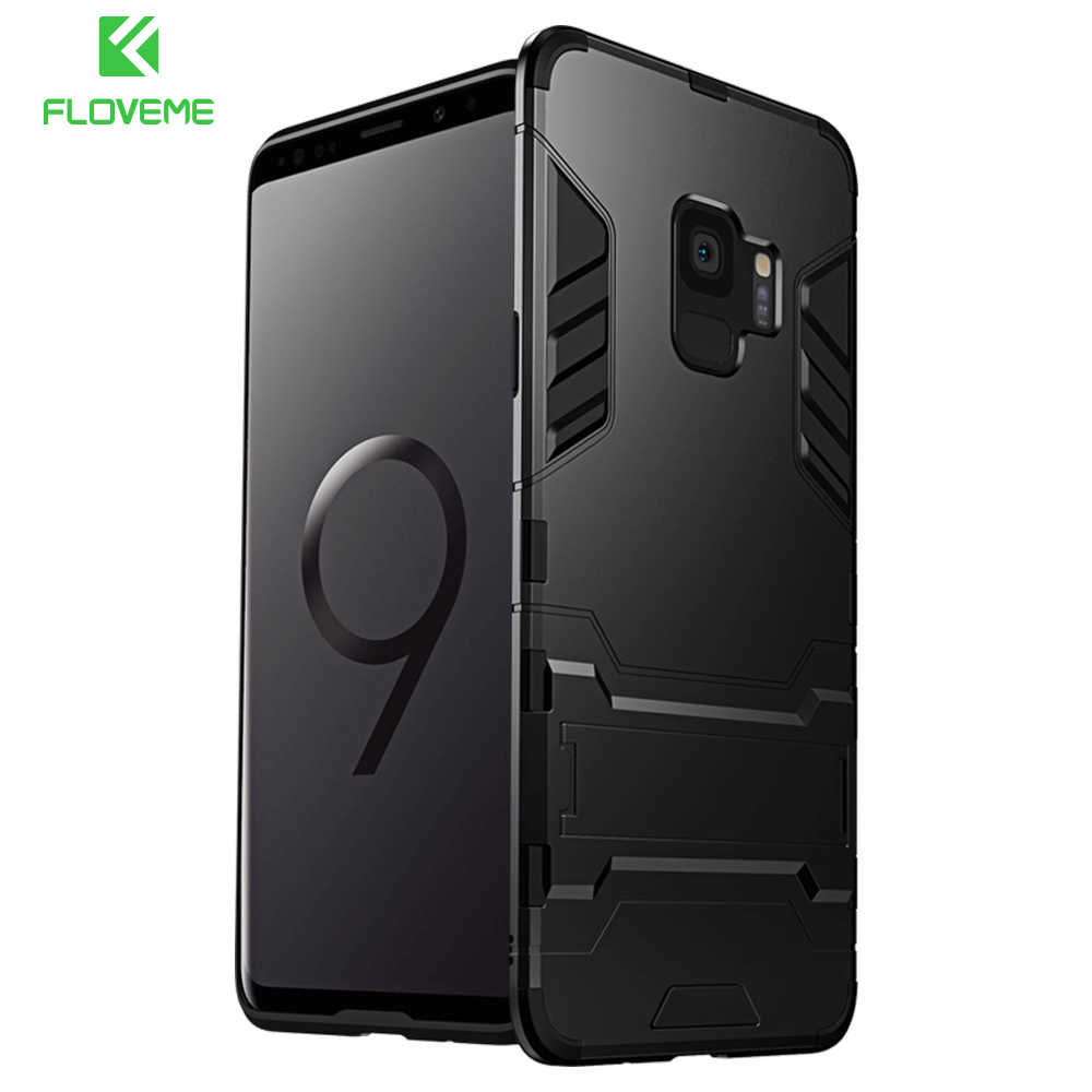d4671f389a45bf FLOVEME Luxury Phone Case For Samsung S8 S9 Plus Case Kickstand Phone Cover For  Samsung Galaxy