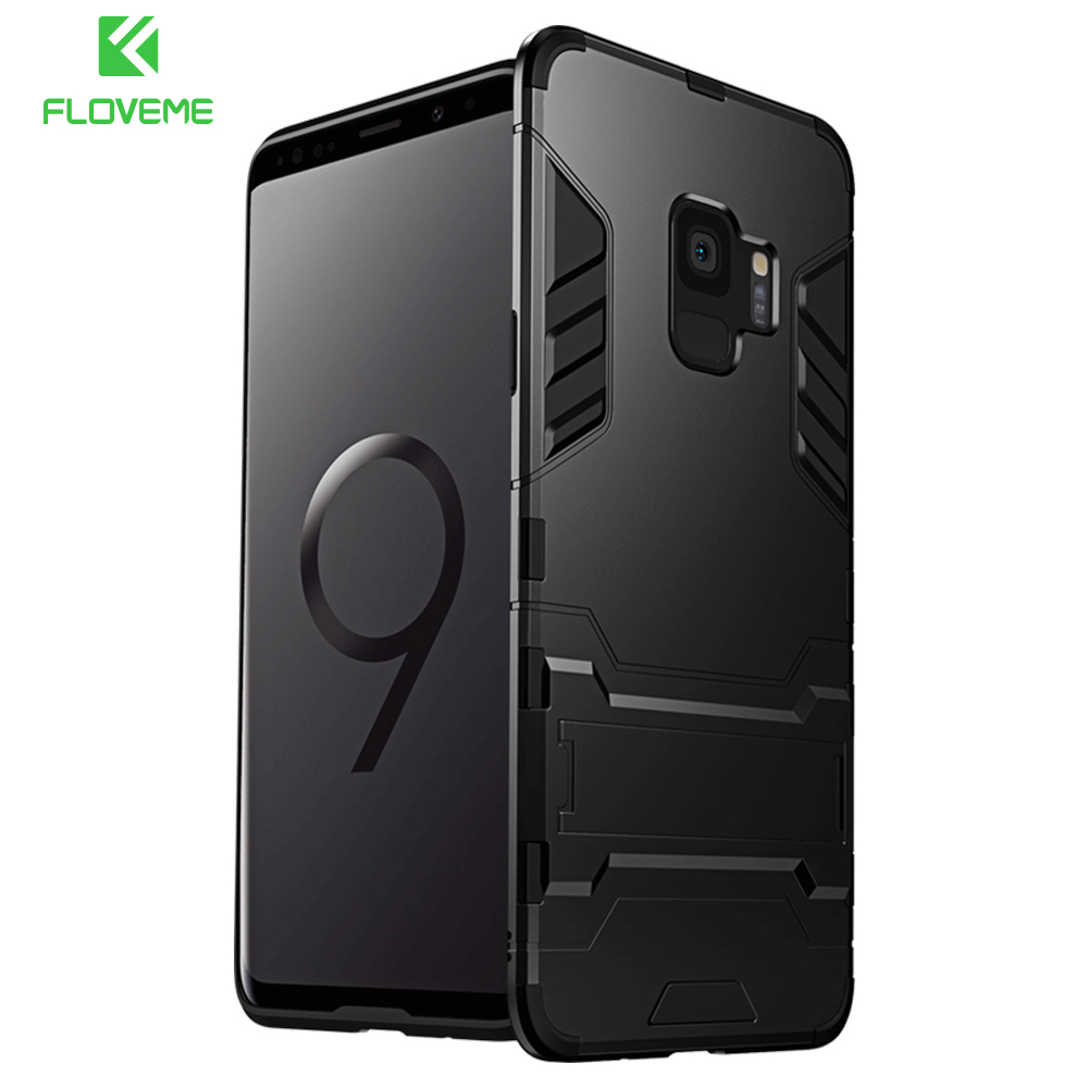 US $3 44 21% OFF|FLOVEME Luxury Phone Case For Samsung S8 S9 Plus Case  Kickstand Phone Cover For Samsung Galaxy S7 Edge NOTE 8 Case Capa Fundas-in