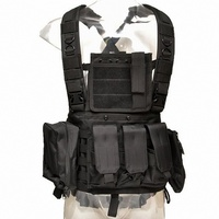 RRV Molle Tactical Vests Military Chest Rig Army Combat Armor Plate Carrier Shooting Hunting Gear Wargame Paintball Airsoft Vest