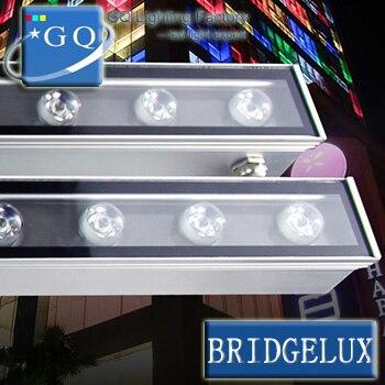 10pcs/lot DHL 24W LED Wall Wash Light Washer garden yard DMX512