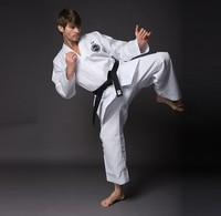 High Quality Adult ITF Taekwondo Karate Uniform Training Cloth