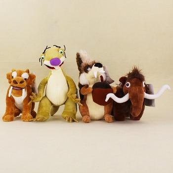 Америка аниме плюшевые куклы Ленивцы белка тигр Диего слон Statu Мягкие плюшевые игрушки для детей Подарки Бесплатная доставка