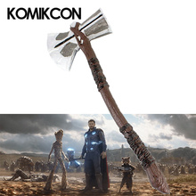 1:1 Thor Stormbreaker PU Weapon Superhero Endgame Model Toy For Adults Halloween Party Cosplay Action Figure Collection Props цена в Москве и Питере