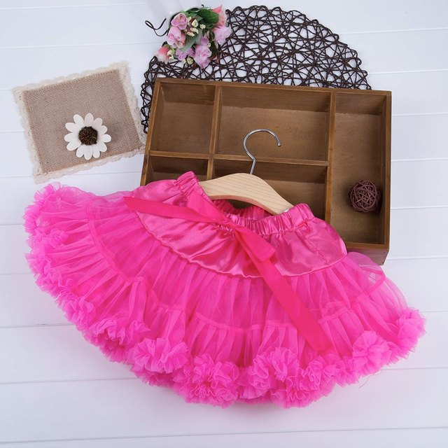 Sweet Girls Skirt Tulle Tutu Baby Girl Kids Infant Toddler Pettiskirt Tutu Skirt Bowknot Party Dance Clothes Summer Skirt Wear