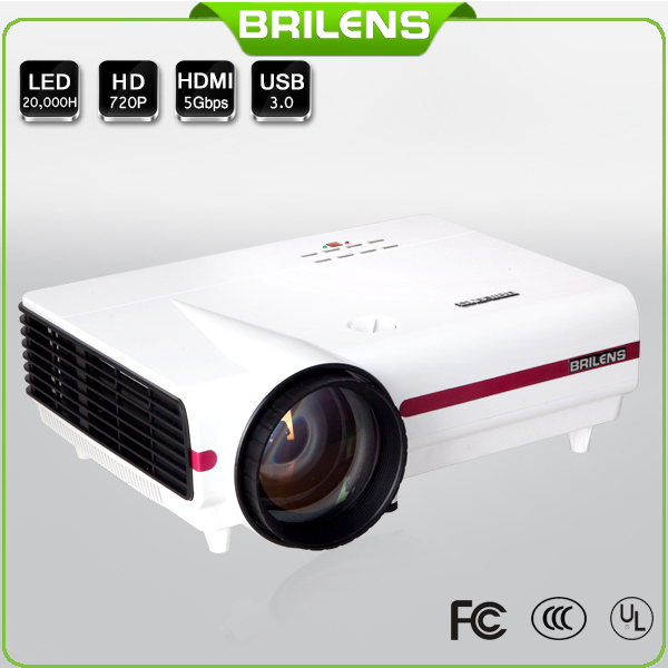 Brilens el800 office use 30000 hours led projector best for Highest lumen pocket projector