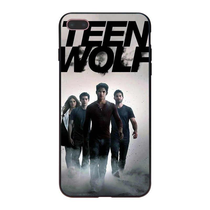 Maiyaca teen wolf clássico high-end telefone acessórios caso para iphone 8 7 6 s plus x xs xr xsmax 5 5S se capa de concha