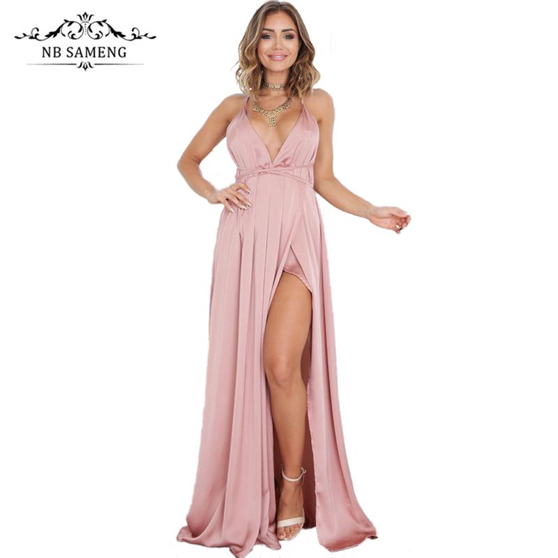 Online Get Cheap Vestido De Fiesta De Noche Largo Elegante Negro ...
