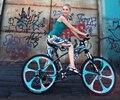 2015 The new 21 speed mountain bike disc brakes 26 inch aluminum-magnesium alloy disc wheel student mountain bike free shipping