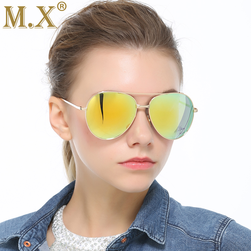 MX Luxury Designer Sunglasses Women 2018 High Quality New Pilot Polarized Sunglasses Wom ...