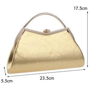 Image 3 - SEKUSAออกแบบผสม 5 สีจับกระเป๋ารูปโซ่ไหล่Messengerกระเป๋าถือParty