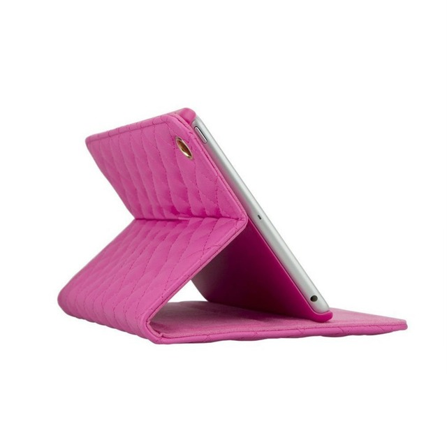 Fashion Crown Bling Diamond Protective Case for iPad Mini 3 2 Stand Leather
