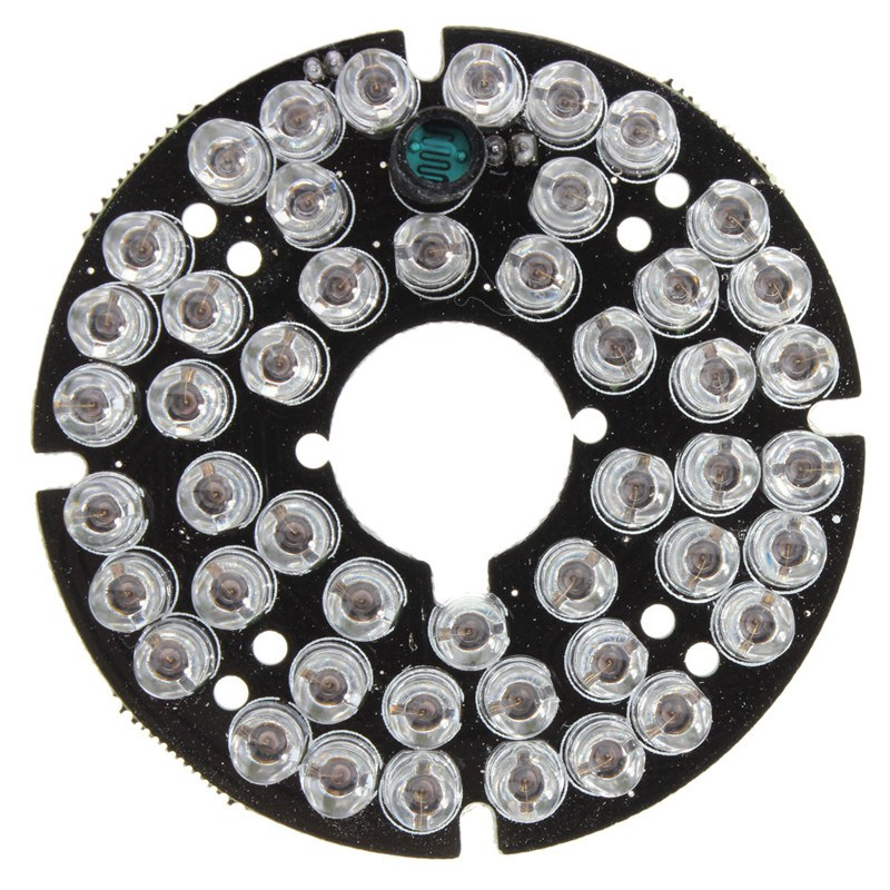NEW Safurance 48 LED IR Infrared Illuminating 60 Degree Bulb Board For CCTV  Home Security Camera