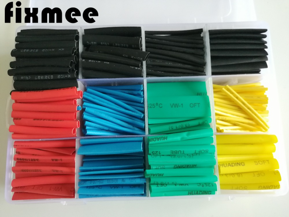 ALL SIZES /& COLORS 25-100 FT Polyolefin 2:1 Heat Shrink Tubing Sleeving US LOT