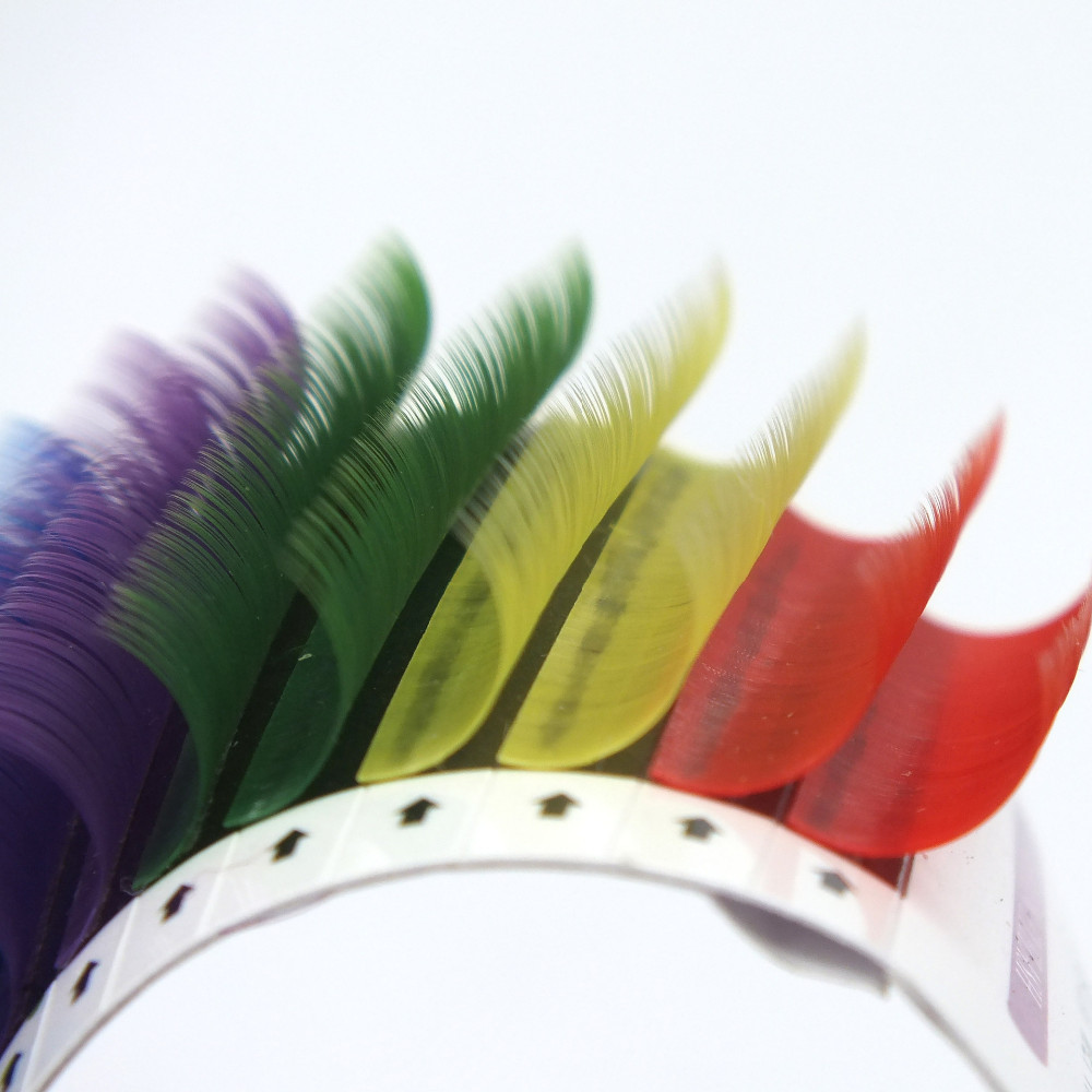 Popular Colored Eyelash Extensions-Buy Cheap Colored Eyelash ...