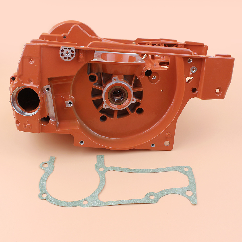 Crankcase Crank Bearing Oil Tank Engine Housing For HUSQVARNA 365 362 371 372 372XP Chainsaw Motor Parts 2016 new brake handle bar lever parts for huss 362 365 371 372 372xp chainsaws chainsaw parts kit