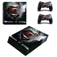 Superman VS Batman Skin Vinyl Decal PS4 PRO Sticker