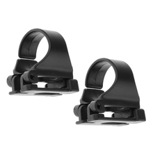 Pack of 2 Flexible Snorkel Keeper Clip Attachement for Snorkeling Scuba Swimming Diving Underwater Water Sports Equipment Black