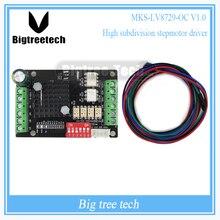 MKS-LV8729-OC Ultra Alta subdivisión stepper conductor 1.5A CNC DEL conductor del motor