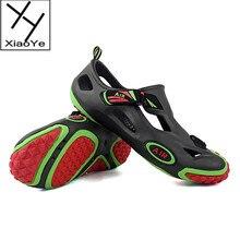 Summer Men's Slip On Sandals Soft Slides EVA Leisure Shoes Beach Clogs