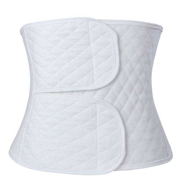 9effa49f4 Pós-parto de algodão Bandagem Cinto Corset Shapewear Barriga Ligação Banda  Barriga Pós-parto
