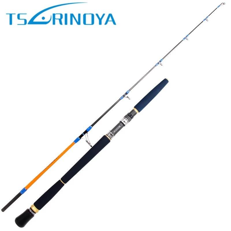 TSURINOYA 1.65m Spinning Fishing Rod XH Power Lure Weight 100-300g Ocean Boat Fishing Rod FUJI Accessories Carbon Jigging Rod цена