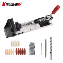 Woodworking Guide Carpenter Kit System,inclined hole drill tools,clamp base Drill Bit Kit System,Pocket Hole Jig Kit Hand tools